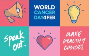 "World Cancer Day 2018 ""We Can, I Can"" Survive Cancer Simply by Making Better Choices"
